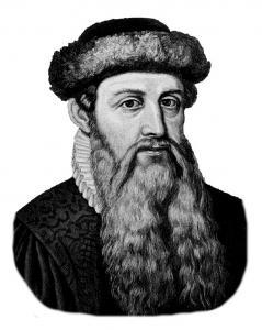 Johannes Gooseflesh Gutenberg